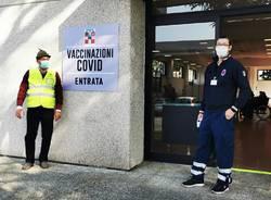 centro vaccinale Borgomanero