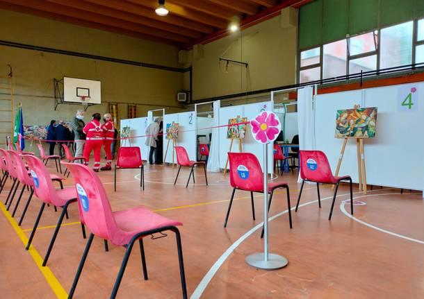 Centro vaccinale via Parini 54 Saronno