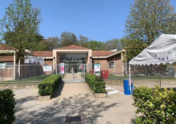 Centro vaccini Lonate Pozzolo