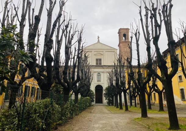 chiesa di sant'ambrogio della vittoria parabiago
