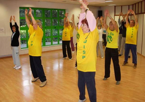corsi ginnastica anziani uisp varese
