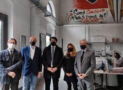 Delegazione del Movimento 5 Stelle in visita a Lariofiere, Como Next ed Henkel
