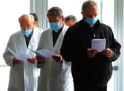 Delpini all'Ospedale di legnano