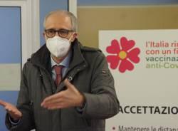 Ecco come funziona il centro vaccinale a Saronno
