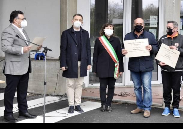 A Oggiona con Santo Stefano il ringraziamento per chi ha aiutato durante la pandemia