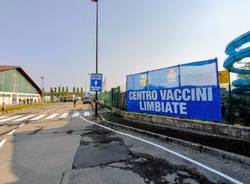 Hub vaccinale di Limbiate via Tolstoj