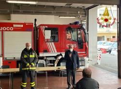 Il Dott. Ing. Marco Cavriani ai Vigili del Fuoco di Varese