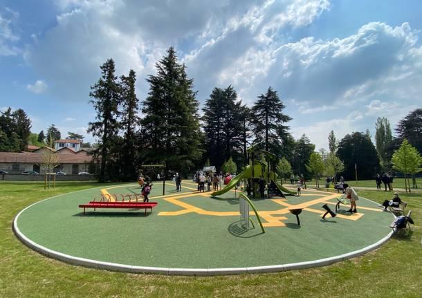 Il Parco gioia inaugurato dai bambini
