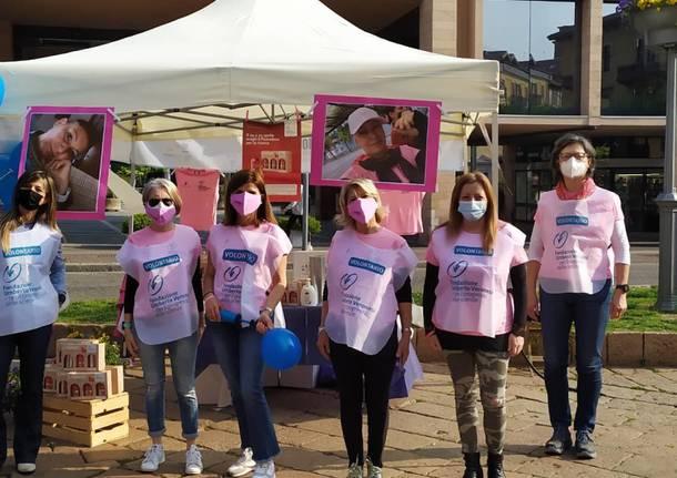 In piazza a Varese una raccolta fondi contro i tumore infantili in onore di Cristina Marino