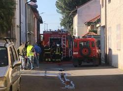 Incendio a Villa Cortese