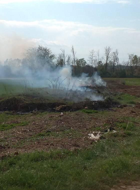 Incendio Samarate Ferno