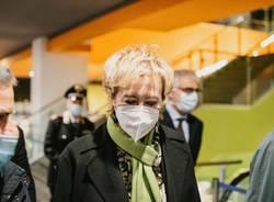 La vicepresidente Moratti in visita all'ospedale di Legnano e al Move In