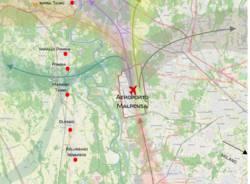 mappa parco Ticino Malpensa
