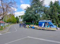 Mercato di Saronno a ranghi ridotti