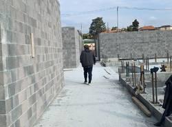 Nel cantiere del centro diurno anziani