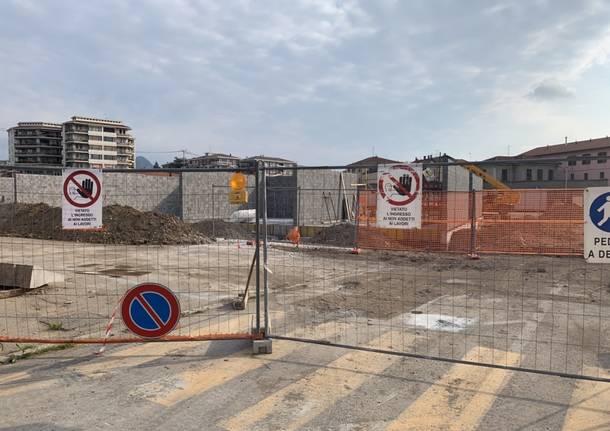 I cantieri del centro diurno anziani a Varese