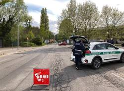 polizia locale varese incidente