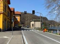 Porto Ceresio - Semafori a chiamata