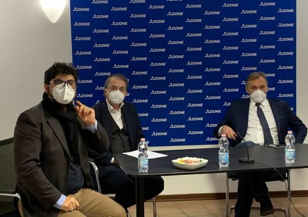 Presentazione del candidato sindaco di Azione Varese Carlo Alberto Coletto