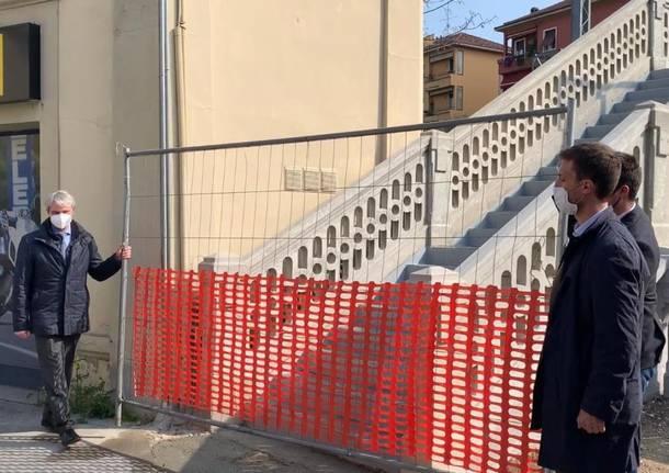 Riaperto il ponte liberty di via Magenta a Varese