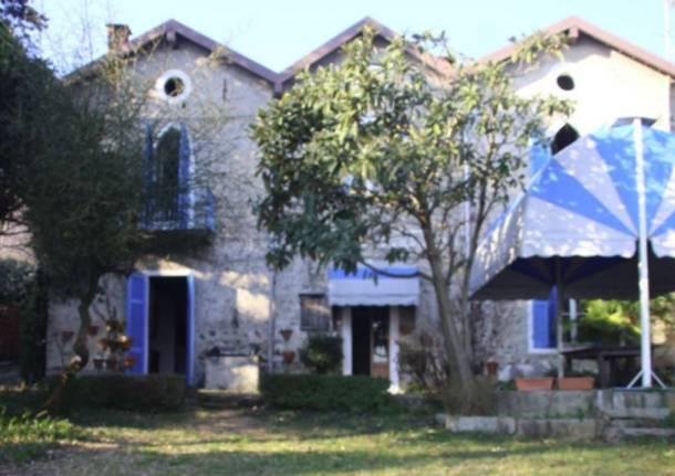 La villa di Siro Penagini a Solcio di Lesa