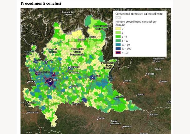 siti contaminati e bonifiche in lombardia