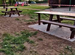 Solaro, rinnovato il Parco Vita con nuovi arredi in vista della stagione estiva