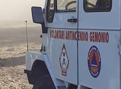 squadra volontari antincendio protezione civile gemonio