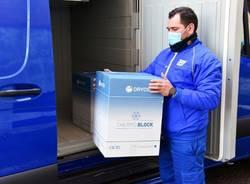 vaccini astrazeneca consegnati da poste italiane