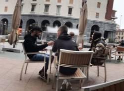Varese, aperitivo in zona gialla