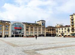 Varese in una domenica di zona arancione