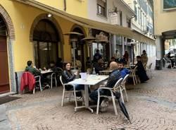 Varese in zona gialla: le riaperture a pranzo