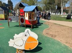 Venegono Superiore: l'inaugurazione della nuova area giochi inclusiva al Parco Pratone