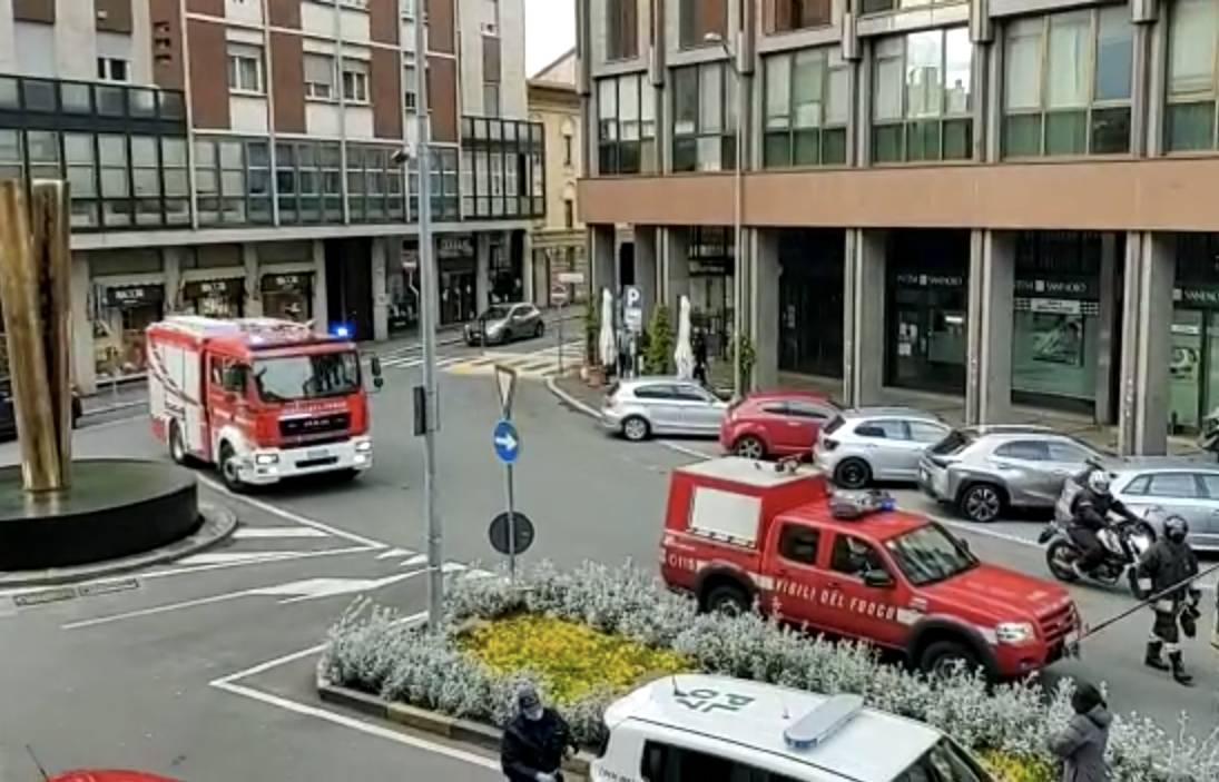 Vigili del fuoco Largo Camussi Gallarate