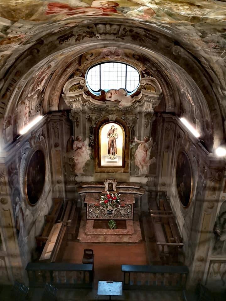 Visita nella chiesa di san Francesco di Saronno