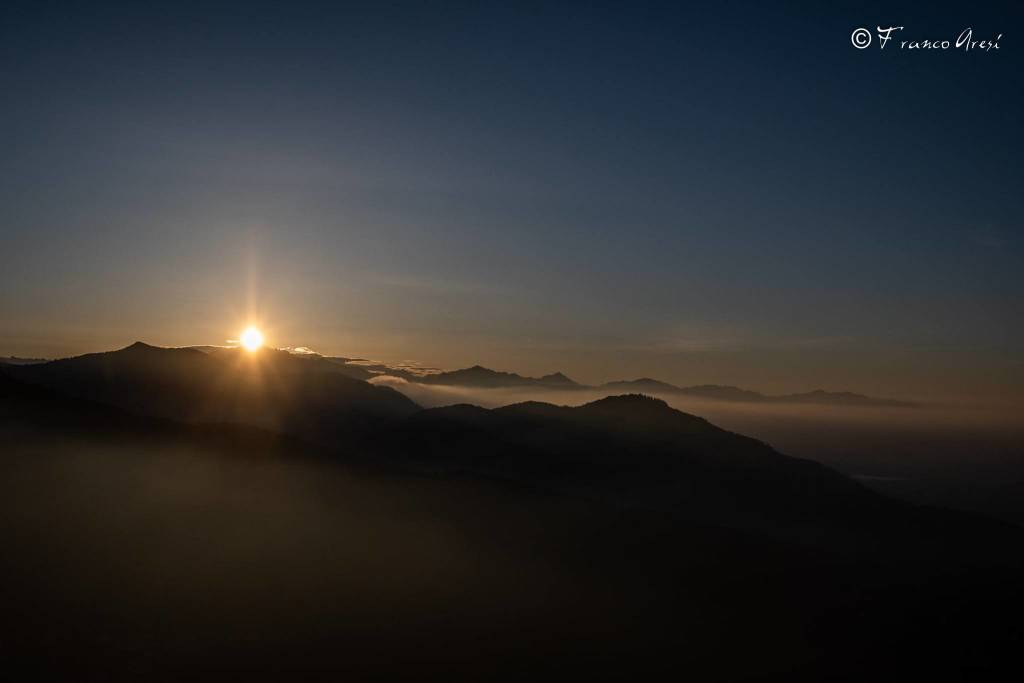 Alba al Sacro Monte - foto di Franco Aresi