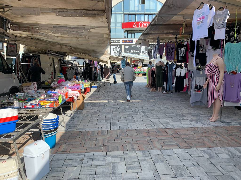 Arriva in piazza Repubblica il mercato del martedì