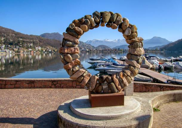 Arte a Lavena Ponte Tresa - foto di Marino Foina
