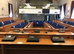 Aule consiliari per la discussione di laurea a Legnano