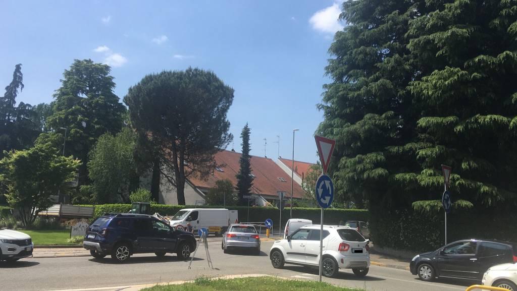 cantiere via Carlo Noè Gallarate