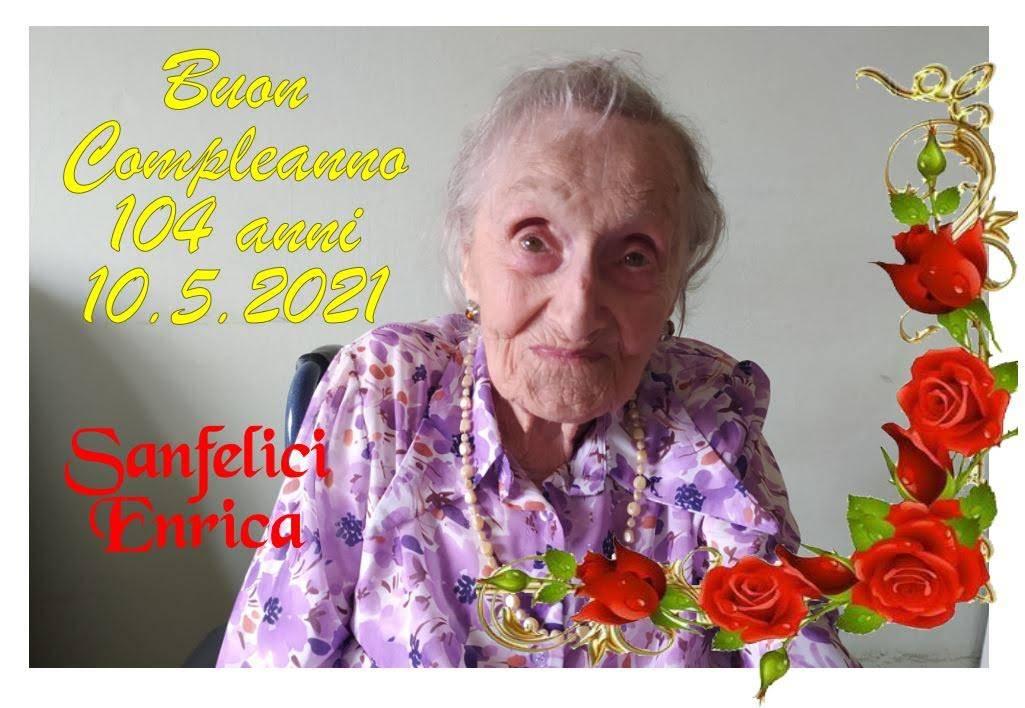 Enrica compie 104 anni, auguri!