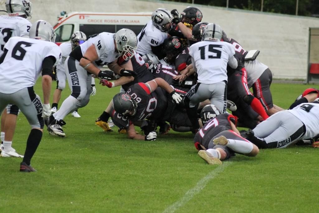 Skorpions Varese - Frogs Legnano 49-7
