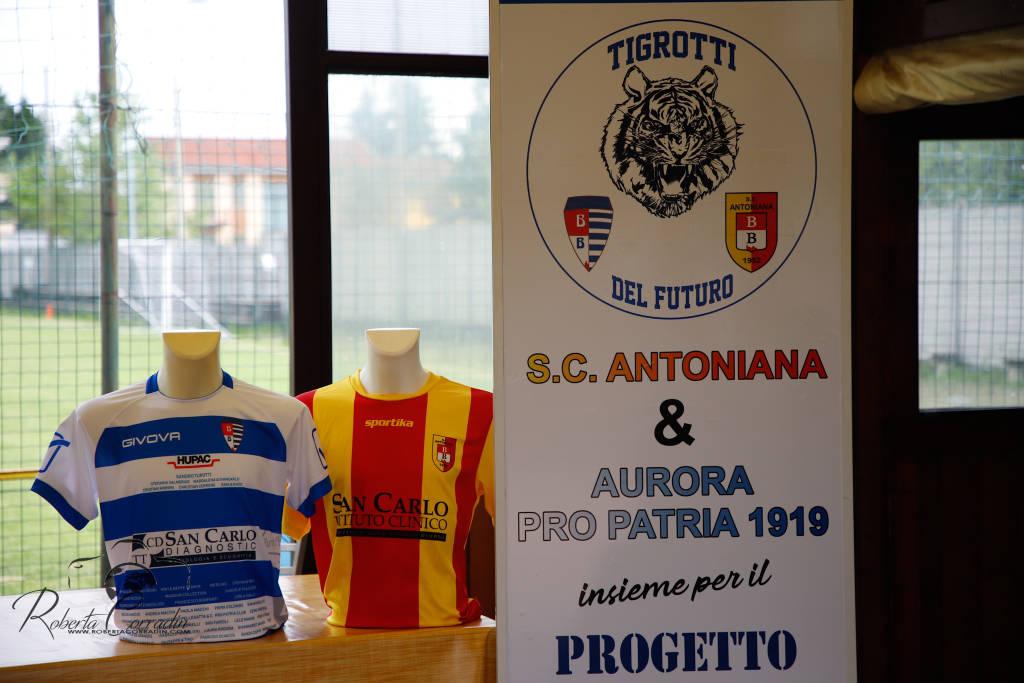 """Antoniana e Pro Patria per i \""""Tigrotti del Futuro\"""""""