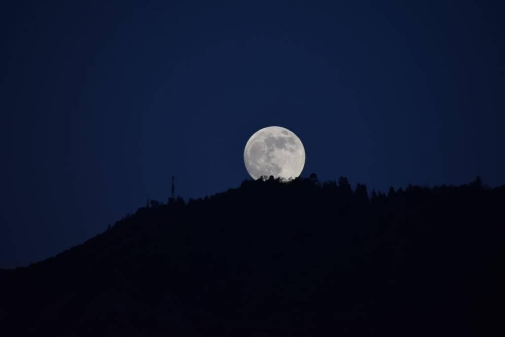 La luna e l\'Osservatorio Astronomico