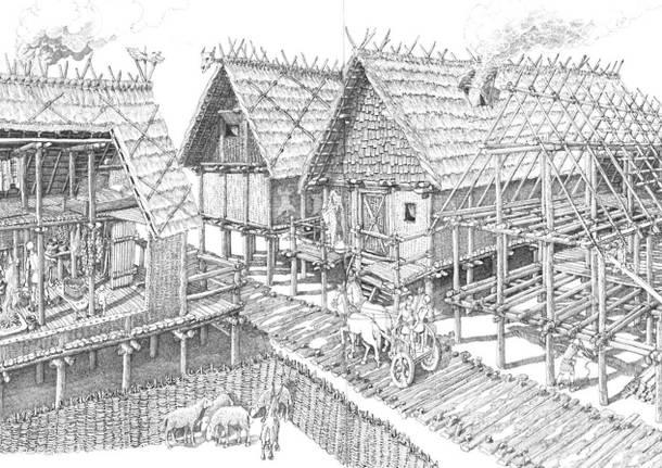 Cartoline Museo di Arona - decennale dei Lagoni