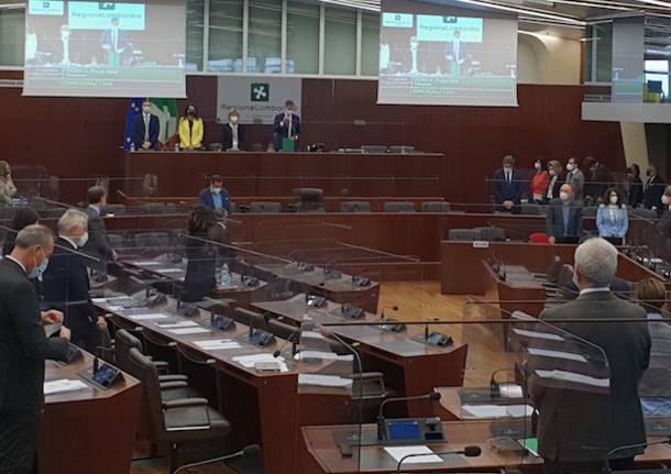 commemorazione mottarone consiglio regionale lombardia