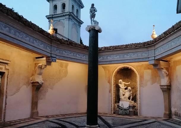 cortile delle Piogge - Ninfeo di Villa Visconti Borromeo Litta