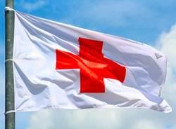 Croce rossa italiana - bandiere
