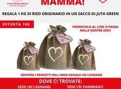 croce rossa sacchetto riso festa della mamma