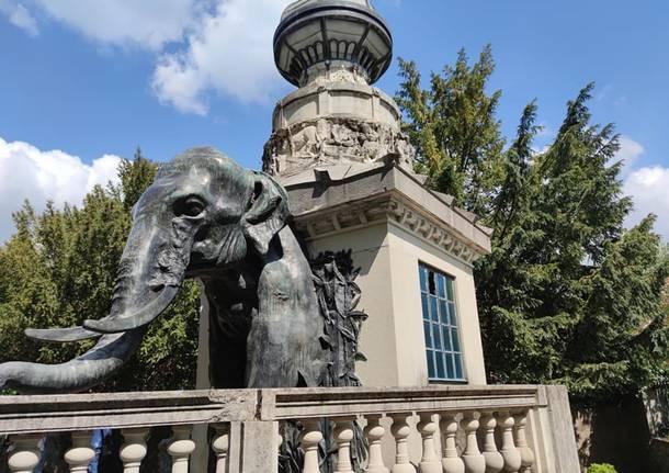 Elefante bregazzana - Pagoda Indiana